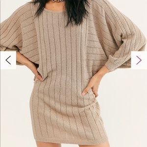 🌻Free People Mauna Kea Sweater Mini Dress‼️